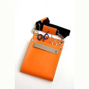 Glide Two-Tone Pouch – Orange
