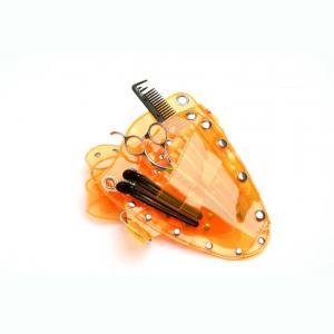 Glide Orange Plastic Pouch