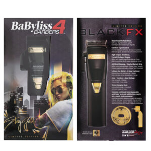 BaBylissPRO BlackFX Lithium Hair Clipper