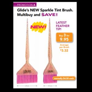 Glide Sparkle Tint Brush 3 pack